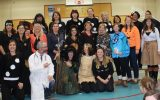 Thank you for a great Halloween Celebration from our staff to our students!